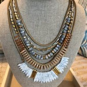 Stella & Dot Ezra Statement Necklace